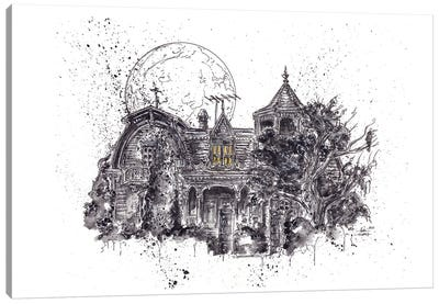 Munsters House Canvas Art Print