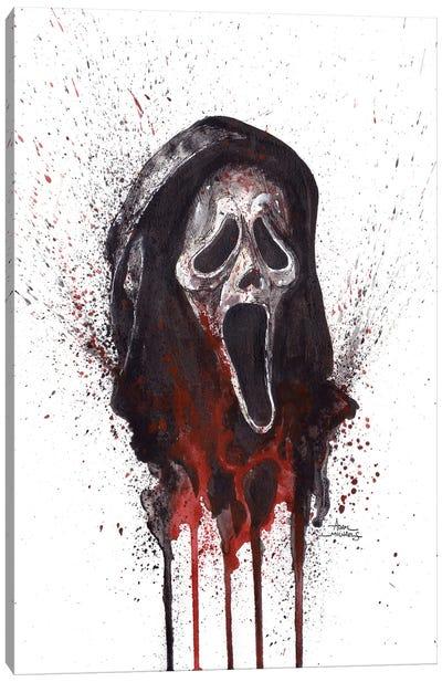 Scream Ghostface Canvas Art Print