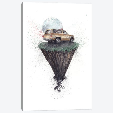 Stranger Things The Upside Down Canvas Print #ADC125} by Adam Michaels Canvas Artwork