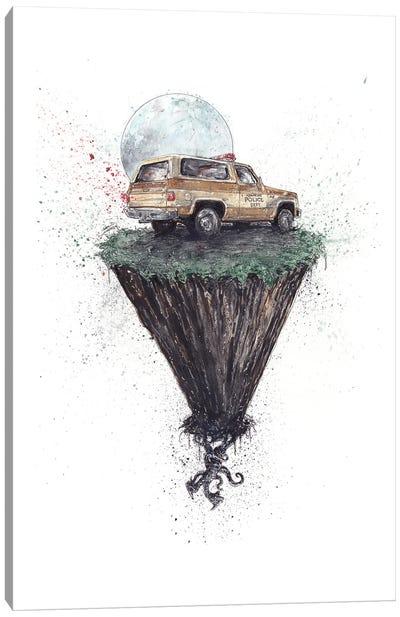 Stranger Things The Upside Down Canvas Art Print