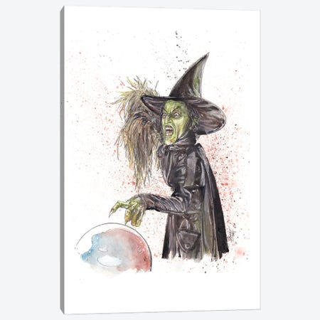 Wicked Witch Canvas Print #ADC140} by Adam Michaels Canvas Print