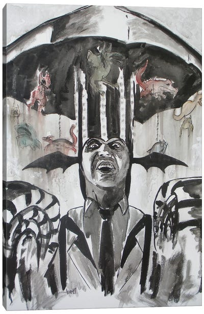 Beetlejuice Carnival Canvas Art Print