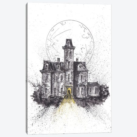 Addams Family House Canvas Print #ADC2} by Adam Michaels Art Print