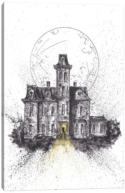Addams Family House Canvas Art Print