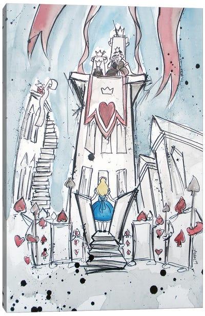 Deck Of Cards Canvas Art Print