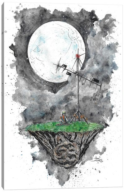 Dustin Stranger Things Story Canvas Art Print