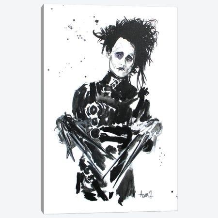 Ed Scissorhands Canvas Print #ADC38} by Adam Michaels Canvas Art