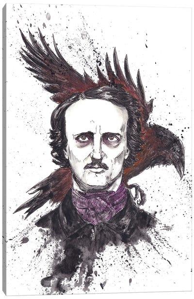 Edgar Allen Poe Canvas Art Print