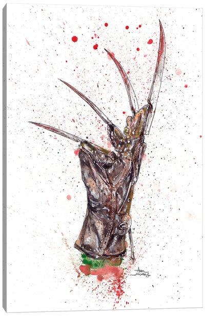 Freddy Glove Canvas Art Print