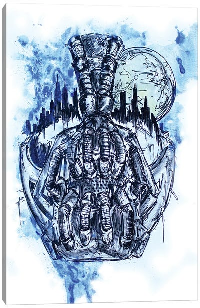 Gothmas Reckoning Canvas Art Print