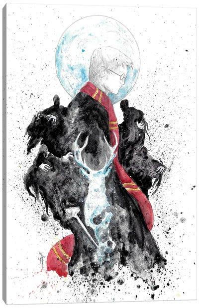 Harry Potter Happiness Light Canvas Art Print
