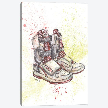 Alien Bitch Ripley Shoes Canvas Print #ADC5} by Adam Michaels Canvas Wall Art