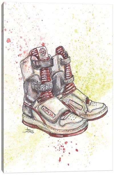 Alien Bitch Ripley Shoes Canvas Art Print