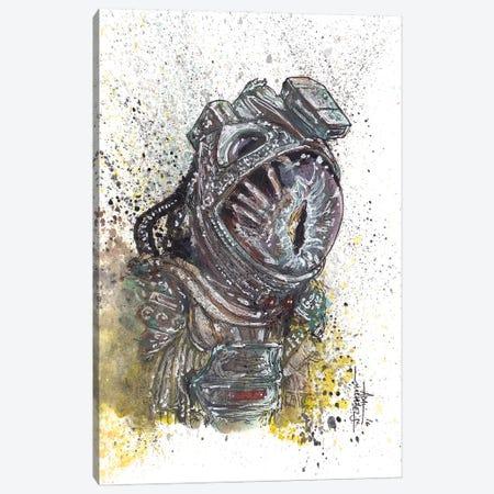 Alien Facehugger Canvas Print #ADC6} by Adam Michaels Canvas Artwork