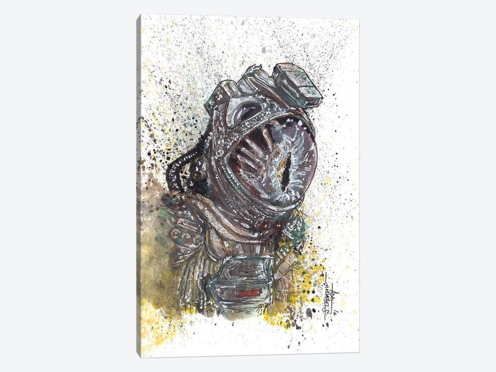 Alien Facehugger by Adam Michaels 1-piece Canvas Art Print