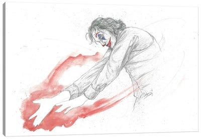 Joker Dance Canvas Art Print