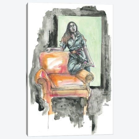 Katrina I Canvas Print #ADC75} by Adam Michaels Art Print