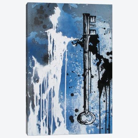 Key Black And White Canvas Print #ADC77} by Adam Michaels Canvas Art Print