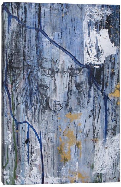 Lion Hidden Canvas Art Print
