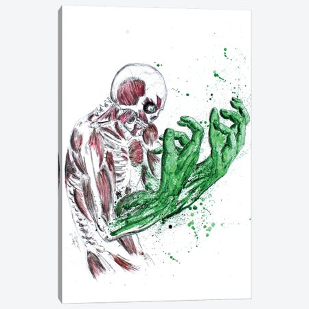 Monster Within Canvas Print #ADC93} by Adam Michaels Canvas Artwork
