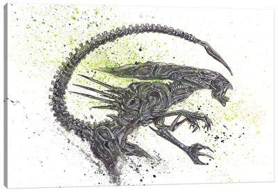 Alien Queen Canvas Art Print