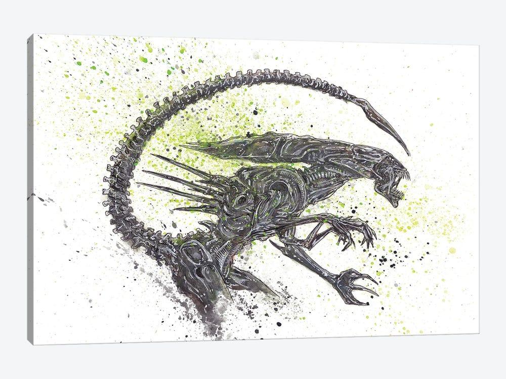 Alien Queen by Adam Michaels 1-piece Canvas Art