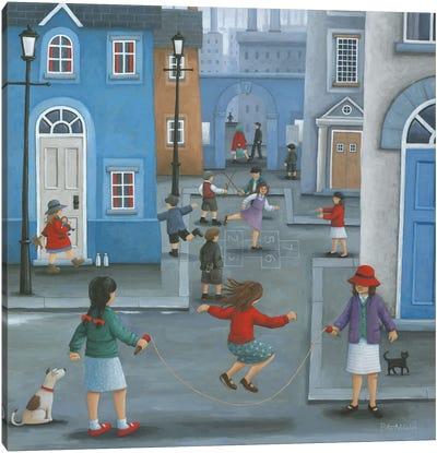 Hopscotch Canvas Art Print