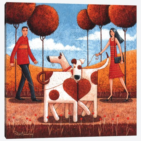 It Must Be Love Canvas Print #ADD36} by Peter Adderley Canvas Art