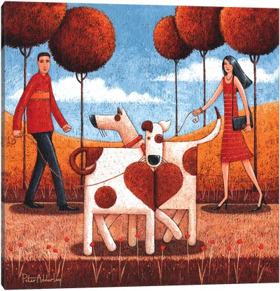It Must Be Love Canvas Art Print