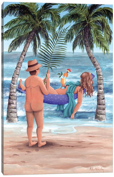 Palm Trees Canvas Art Print