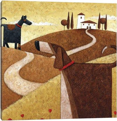 Road To Tusc Canvas Art Print