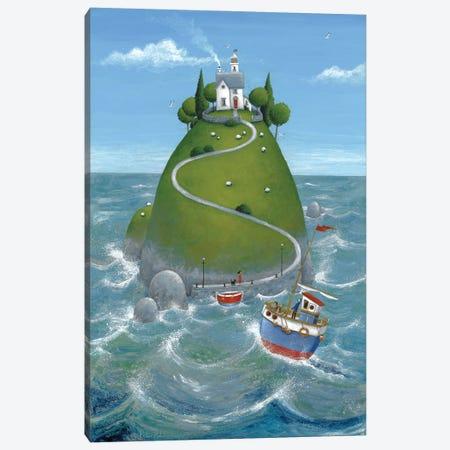 The Island Canvas Print #ADD61} by Peter Adderley Canvas Wall Art