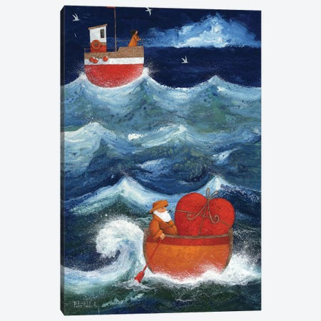 The Valentine Canvas Print #ADD65} by Peter Adderley Art Print