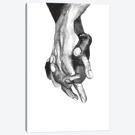 Hands Canvas Print #ADE23} by ANDA Design Canvas Art Print
