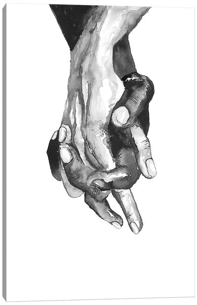 Hands Canvas Art Print