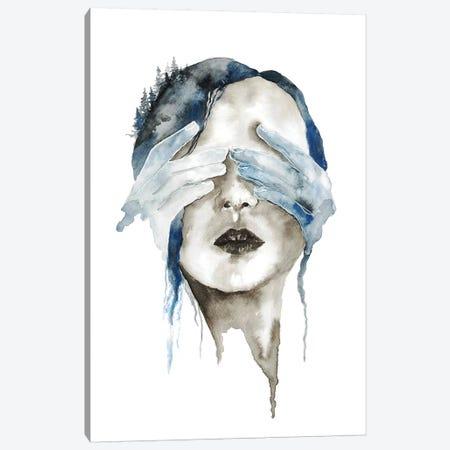 Hidden Canvas Print #ADE24} by ANDA Design Canvas Artwork