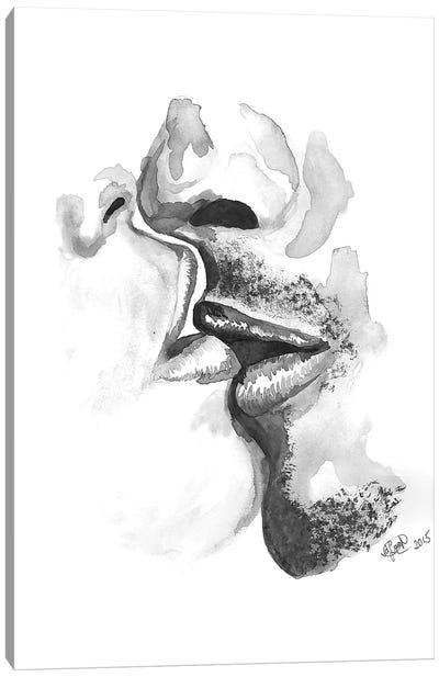 Kiss Canvas Art Print