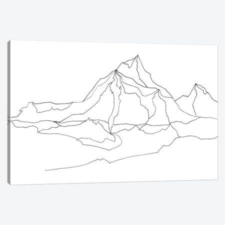 Mntn Canvas Print #ADE34} by ANDA Design Canvas Print