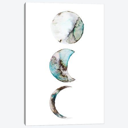 Moon 3-Piece Canvas #ADE35} by ANDA Design Art Print