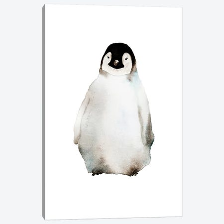 Penguin Canvas Print #ADE43} by ANDA Design Canvas Art Print