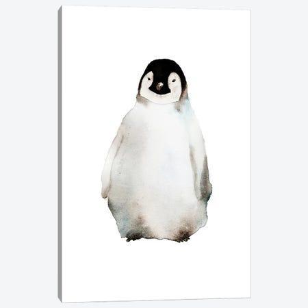 Penguin Canvas Print #ADE43} by ANDA Design Canvas Art Print