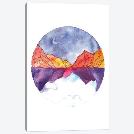 Circle Canvas Print #ADE7} by ANDA Design Canvas Wall Art