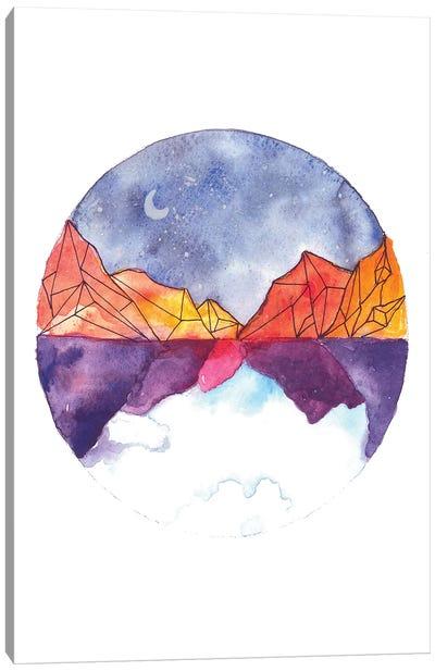 Circle Canvas Art Print