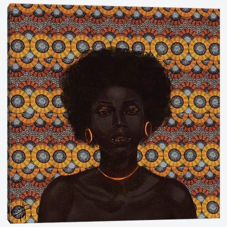 Gold II Canvas Print #ADK11} by Adekunle Adeleke Canvas Art