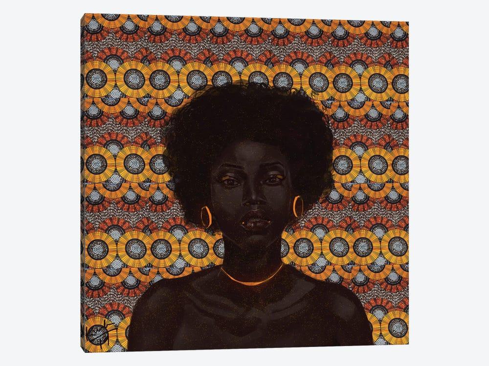 Gold II by Adekunle Adeleke 1-piece Art Print