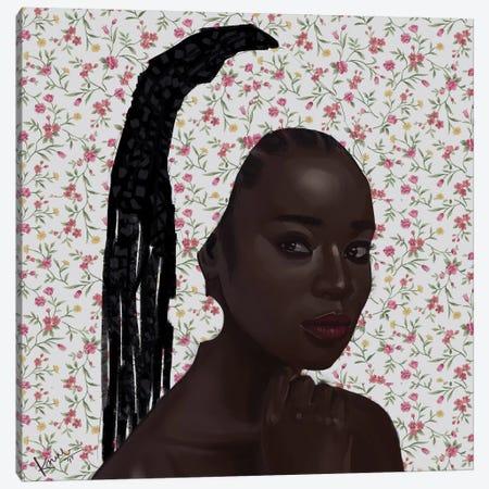 Rose Canvas Print #ADK19} by Adekunle Adeleke Canvas Art