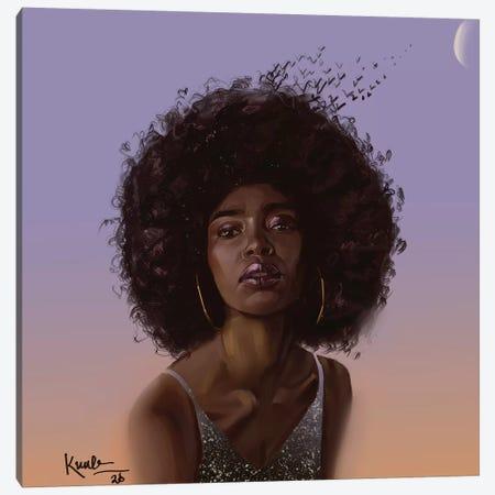 Skybird Canvas Print #ADK20} by Adekunle Adeleke Canvas Print