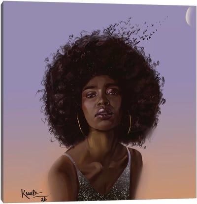 Skybird Canvas Art Print