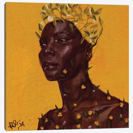 Sprout 3-Piece Canvas #ADK21} by Adekunle Adeleke Art Print