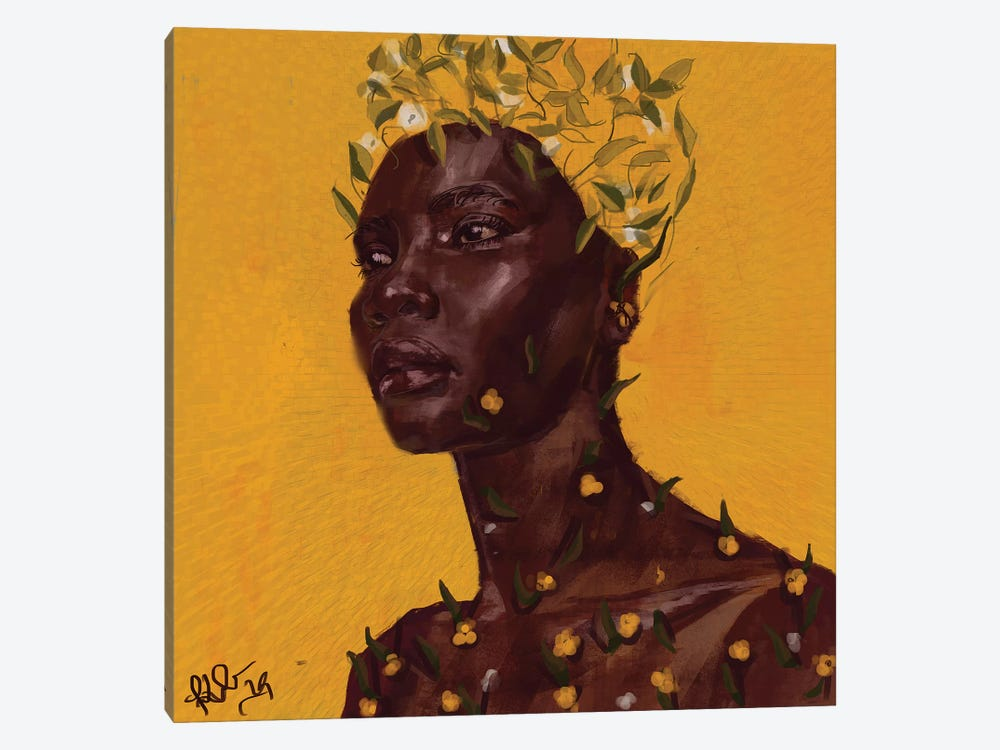 Sprout by Adekunle Adeleke 1-piece Canvas Artwork